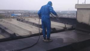 Bitumenbahnen für Dachabdichtungen kaltselbstklebend