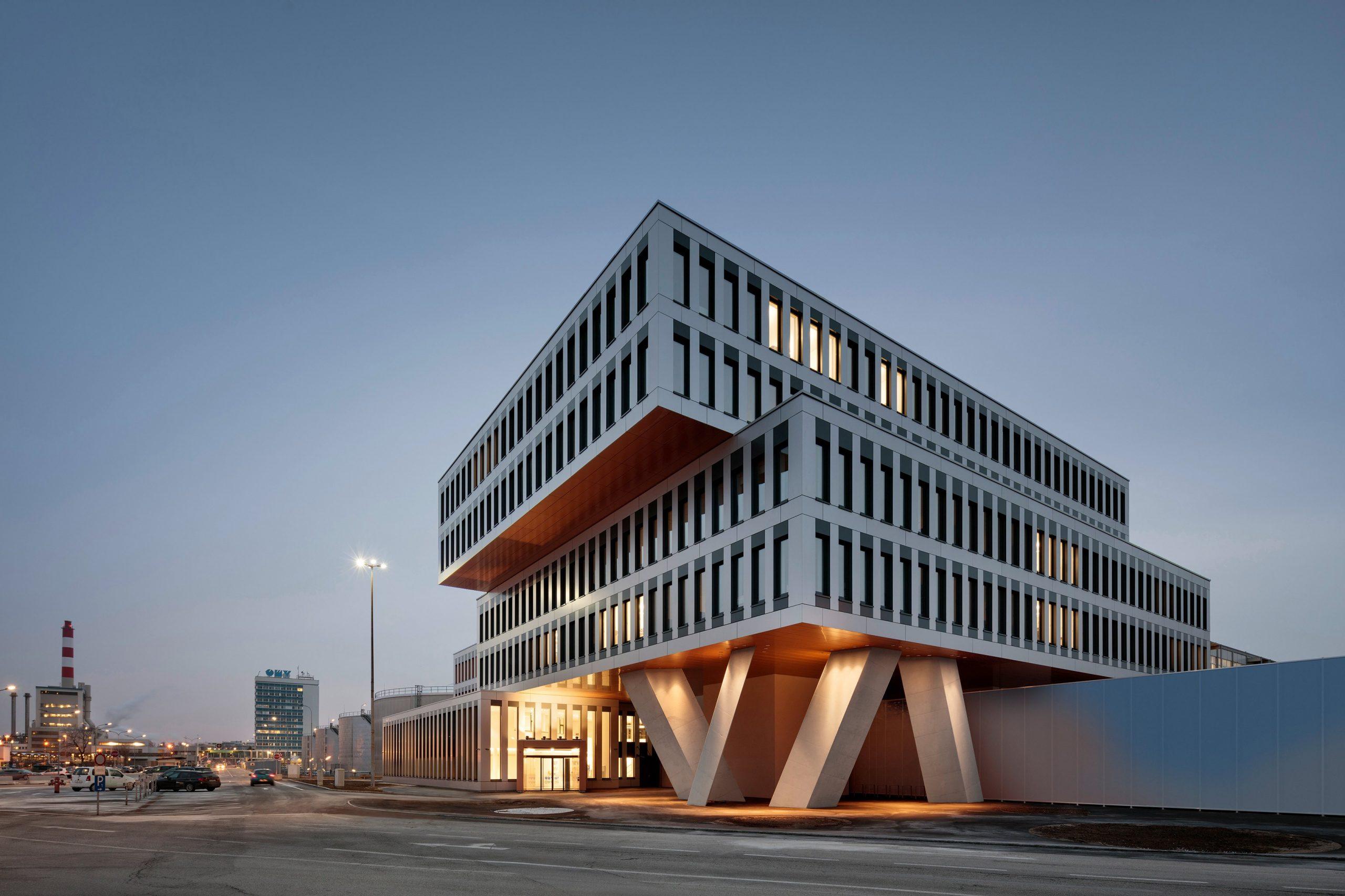 OMV Office Building, Mannswörther Straße 28, 2320 Schwechat